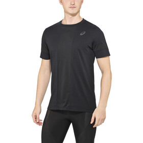 asics Stripe SS Top Men performance black